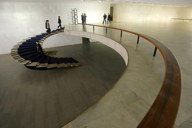 The foyer of the Foreign Ministry Palacio do Itamarati